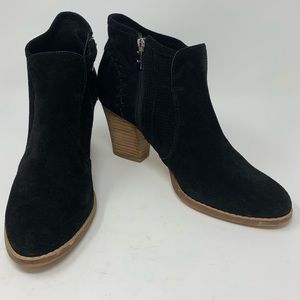 Marc Fisher | Cadis Suede Ankle Booties | Size 8 M